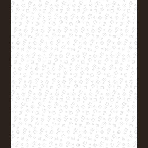 Kanvas Studio - Domino Effect - Mini Squares - White on White