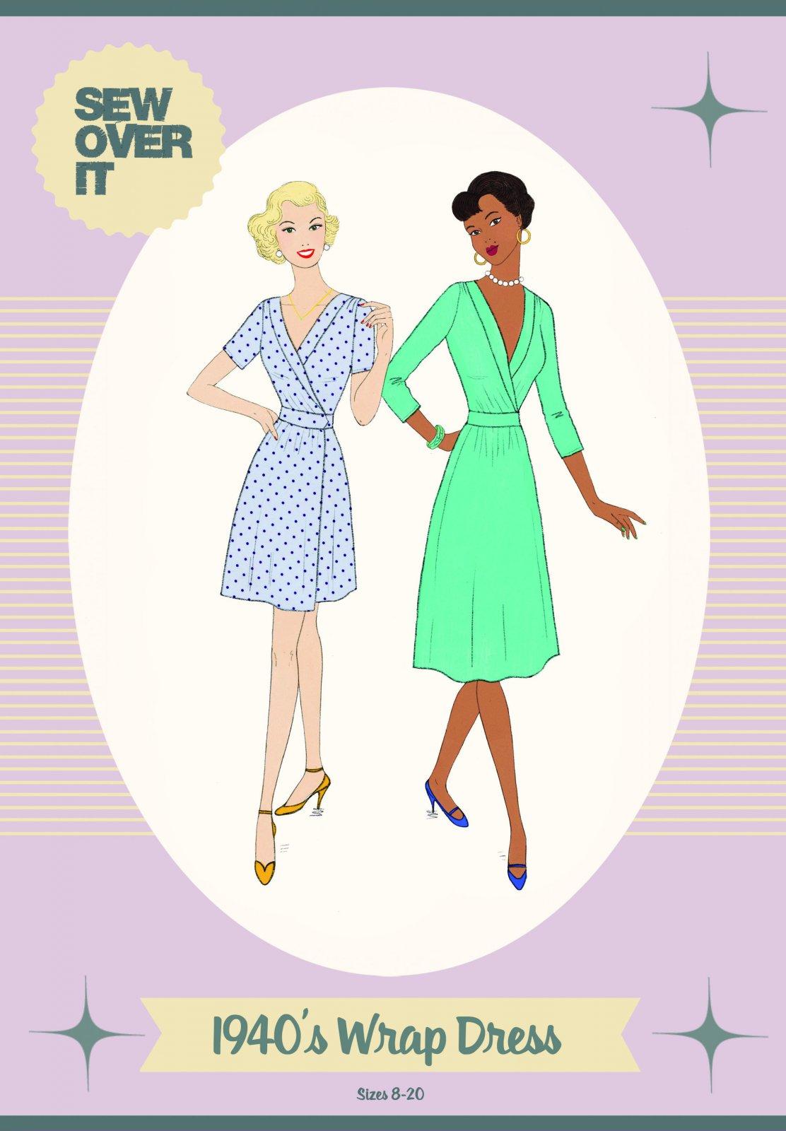 Sew Over It- 1940's Wrap Dress