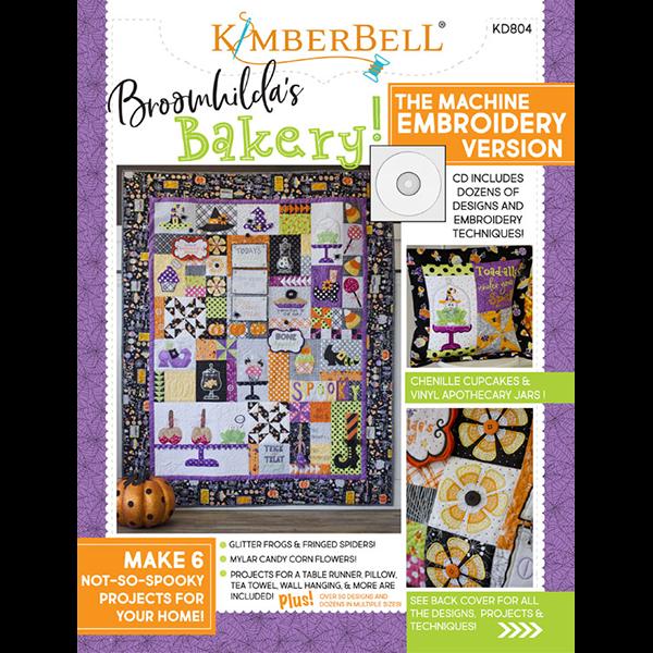 Kimberbell Deisgns BROOMHILDA'S BAKERY EMBROIDERY CD & BOOK