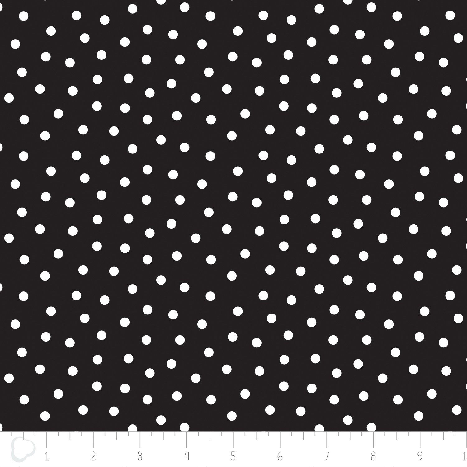 Camelot fabrics- Mixology Luxe- Dotted in Black