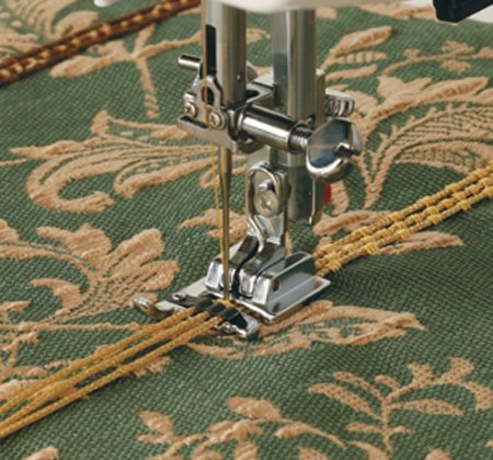 Janome - 3 Way Cording Foot-- for Horizontal Rotary Hook