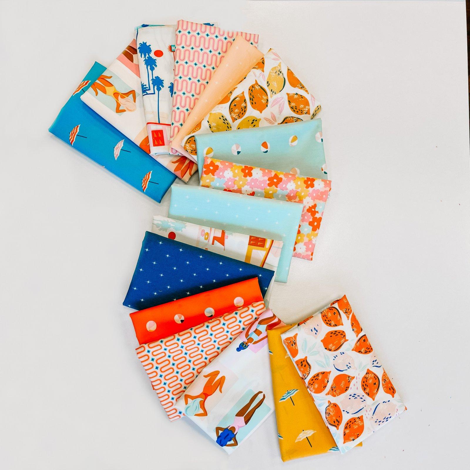 Live Art Gallery Fabrics - AGF Studio - Sunburst - FQ Bundle