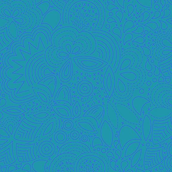 Andover Fabrics - Alison Glass - Sun Print 2020 - Stitched
