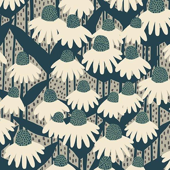 Andover Fabrics - Sarah Golden - Perennial - Coneflower