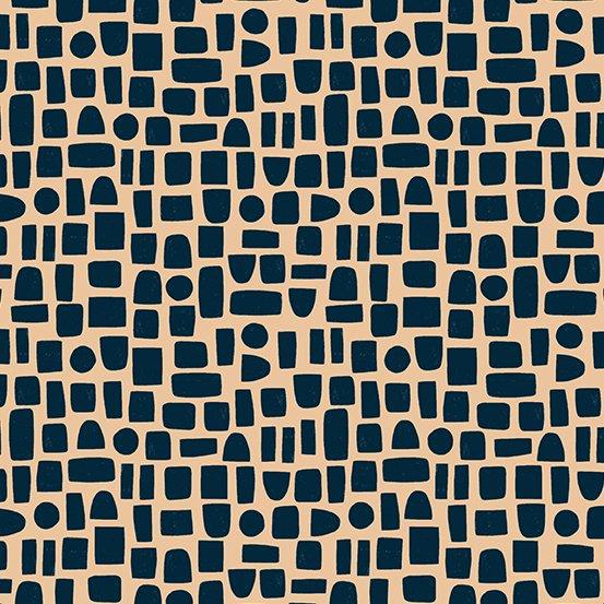 Andover Fabrics - Sarah Golden - Perennial - Shapes