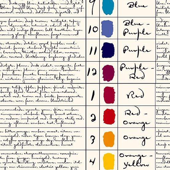 Andover Fabrics - Giucy Giuce - Prism - Colors