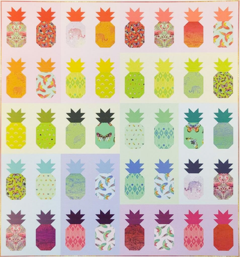 Free Spirit Fabrics - Tula Pink - Pining For You Quilt Kit *PRE-ORDER
