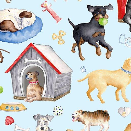 Benartex - Think Pawsitive - Dogs Rule