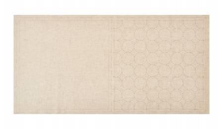 Cosmo Sashiko Cotton & Linen Precut Fabric - Circle