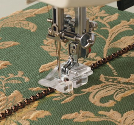 Janome - Beading Foot (Wide)--for 9mm max. stitch width machines