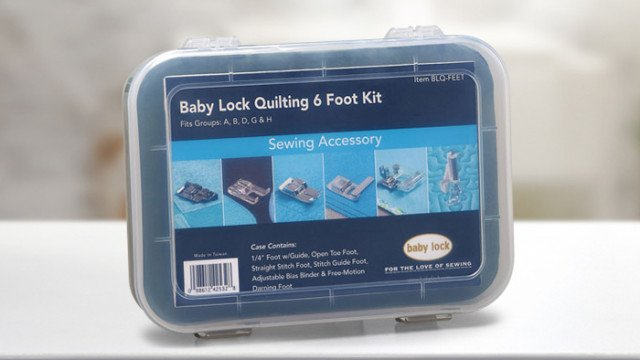 Babylock Quilting Foot Kit - Specialty Feet