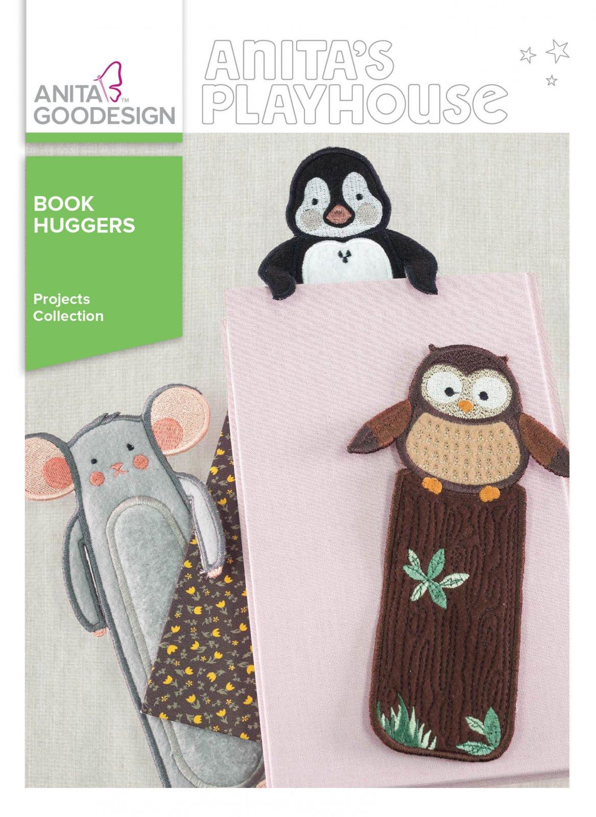 Anita Goodesign- Book Huggers