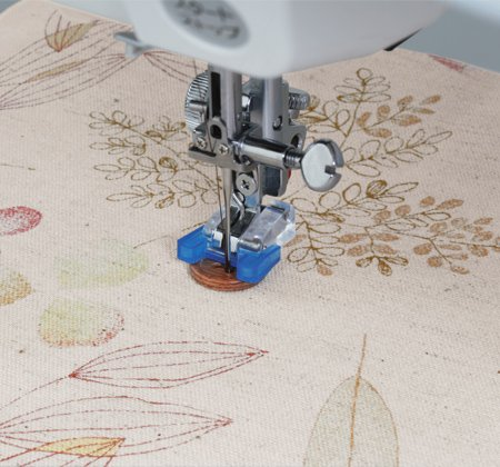 Janome - Button Sewing Foot--for Oscillating Hook Models (5mm max width)