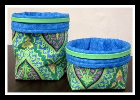 Catch All Fabric Containers