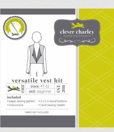 Clever Charley Pattern- Versatile Vest Kit
