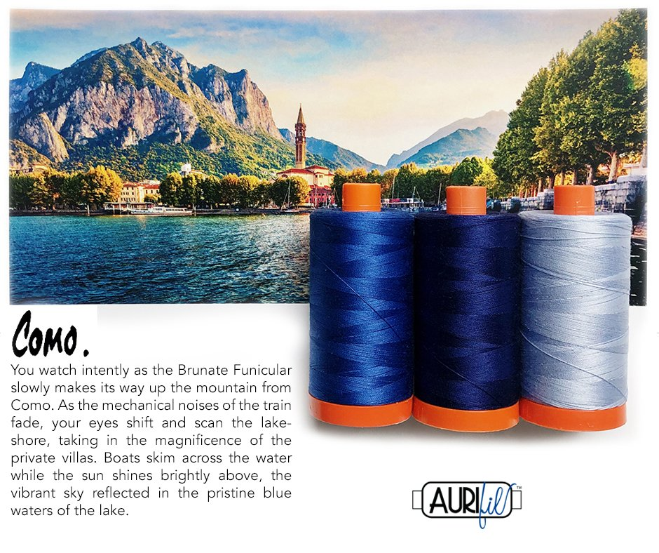 Aurifil Color Builder - June 2020
