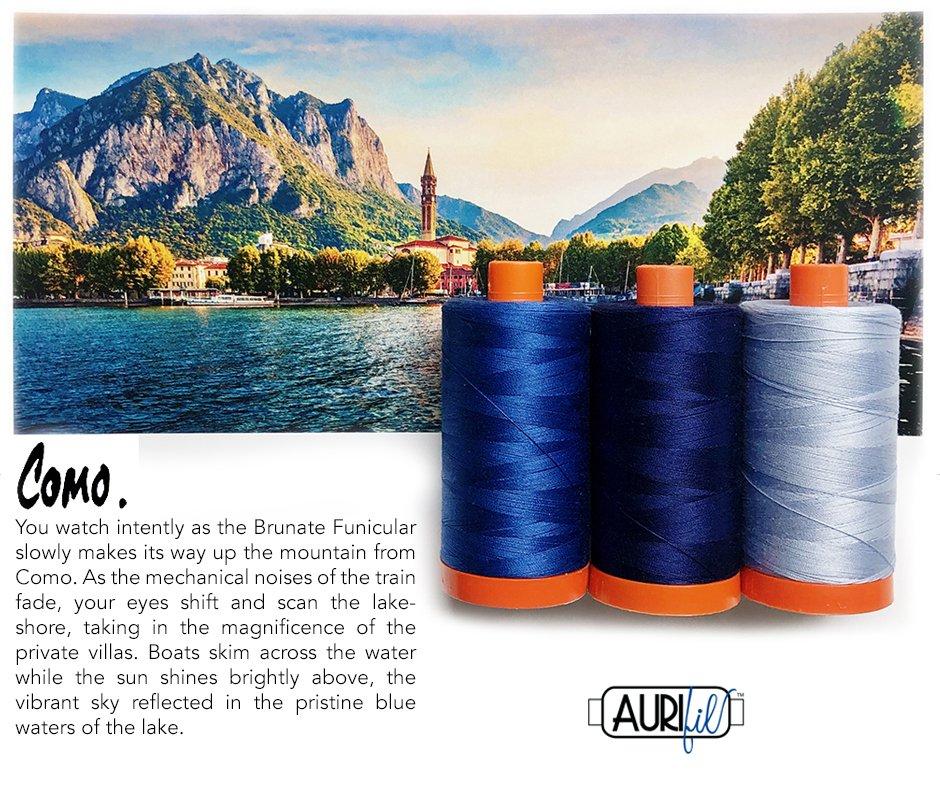 Aurifil Color Builder - June 2020
