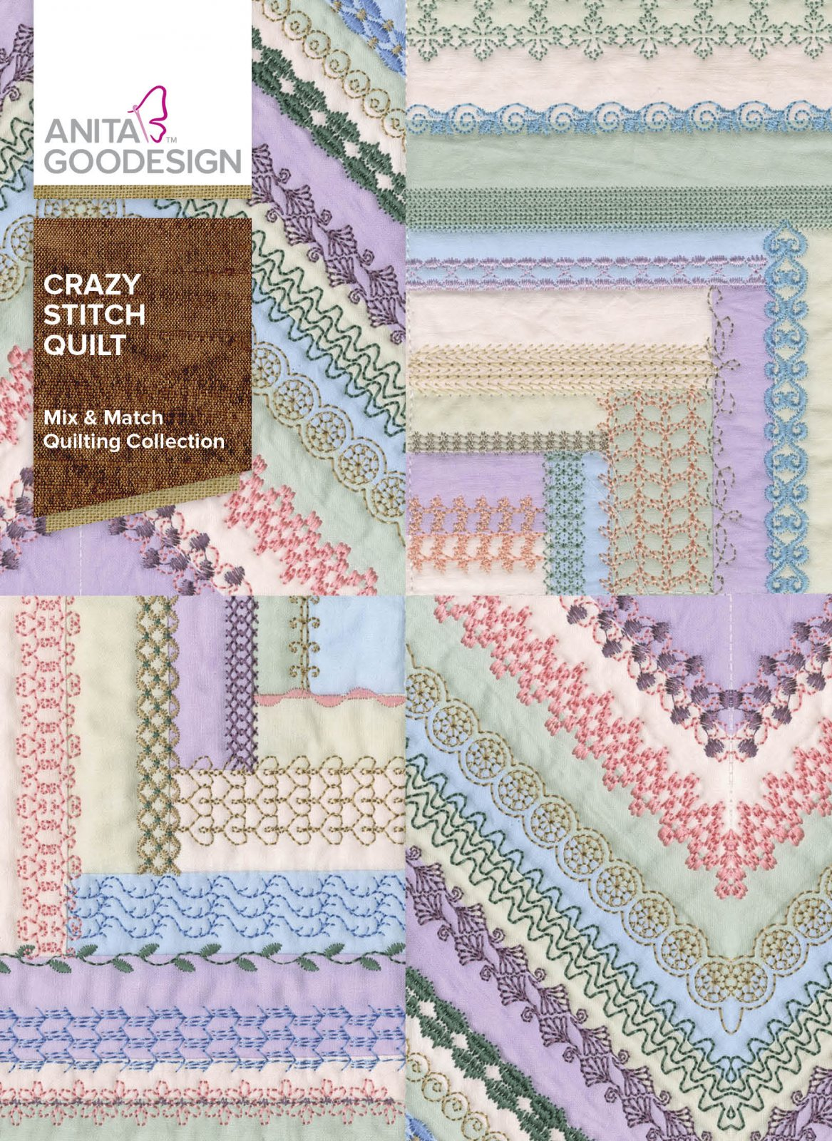 Anita Goodesign- Crazy Stitch Quilt