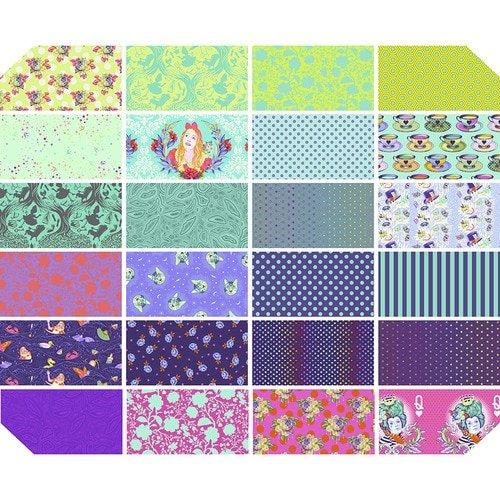 Free Spirit Fabrics - Tula Pink - Curiouser - Colorway Fat Quarter Bundle *PRE-ORDER