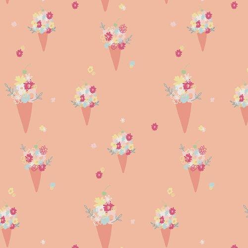 Live Art Gallery Fabrics - Daydream - Blooming Ice Cream