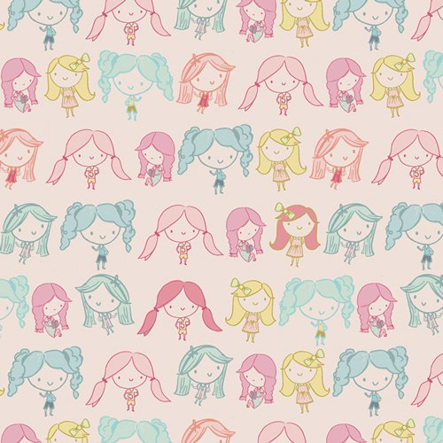 Live Art Gallery Fabrics - Daydream - Best Friends Forever
