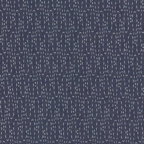 Art Gallery Fabrics - The Denim Studio - Casted Loops Printed Denim