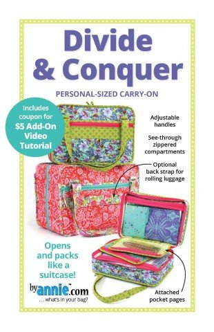 Divide and Conquer Personal sized carry-on