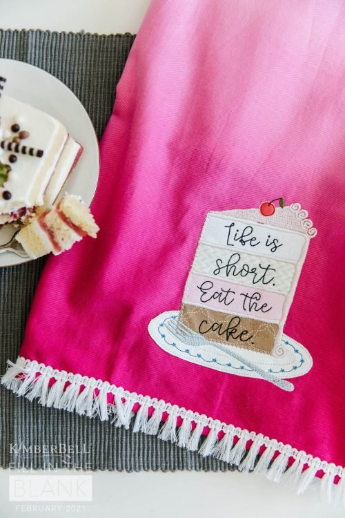 Kimberbell Ombre Tea Towel Blanks