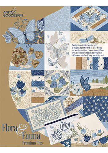 Anita Goodesign- Flora and Fauna - Premium Plus