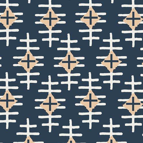 Art Gallery - April Rhodes - Bound Knit Path Marker Slate