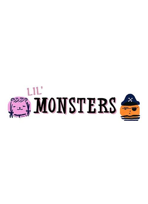 Cotton & Steel - Lil' Monsters- FQ Bundle