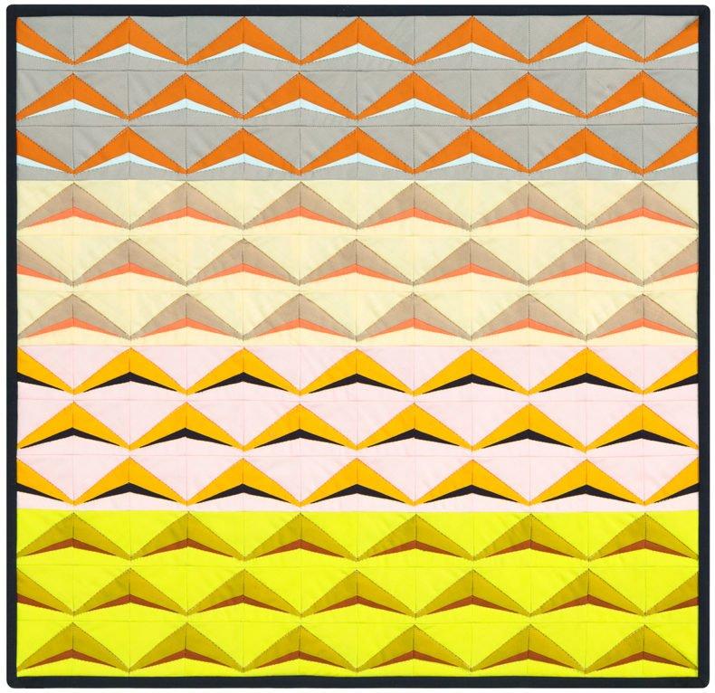 Carolyn Friedlander Lott (D) Quilt Pattern