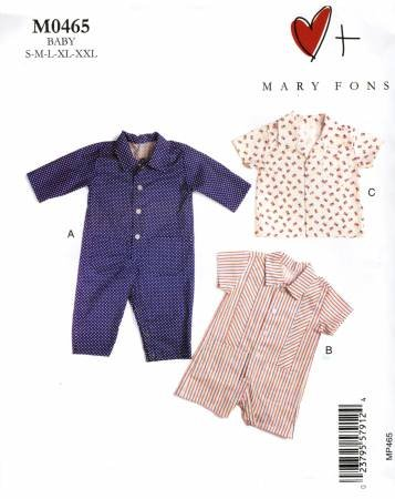 Mary Fons - Infant's Overalls and Shirt