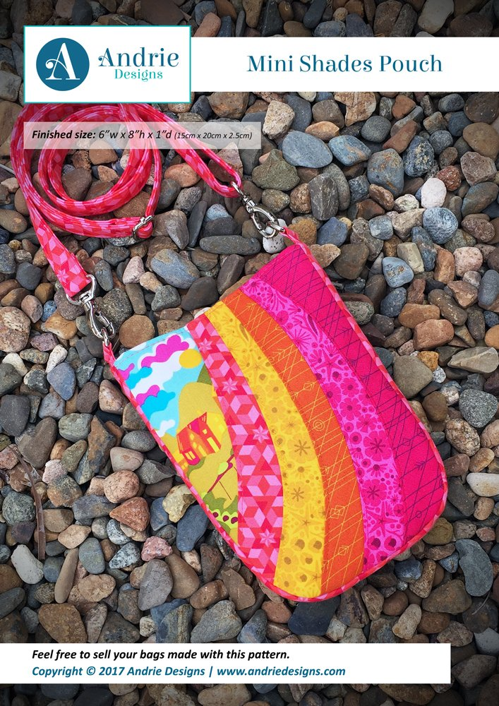 Andrie Designs Mini Shades Pouch
