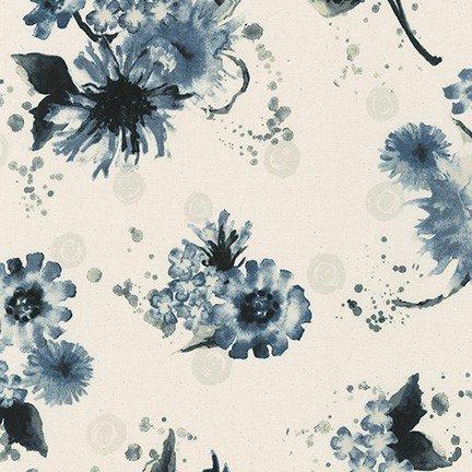 Robert Kaufman - Wishwell - Natural Blooms - Natural