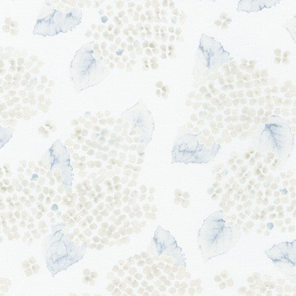 Robert Kaufman - Wishwell - Natural Blooms - White