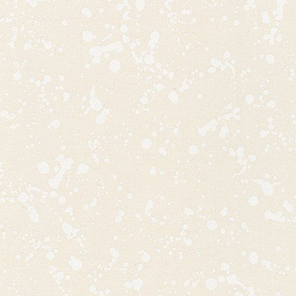 Robert Kaufman - Wishwell - Natural Blooms - Splatter- Snow