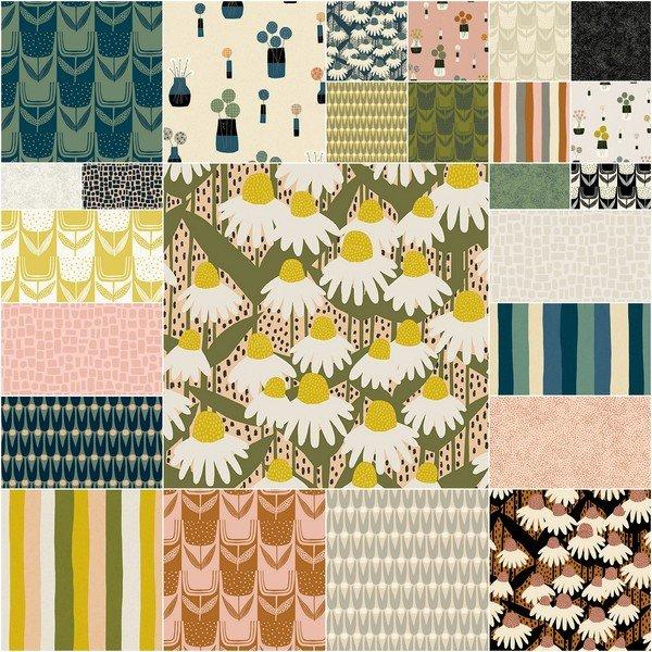 Andover Fabrics - Sarah Golden - Perennial - FQ Bundle