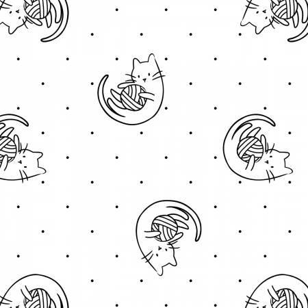 Camelot Fabrics- Anne Sullivan- Meow- Playtime