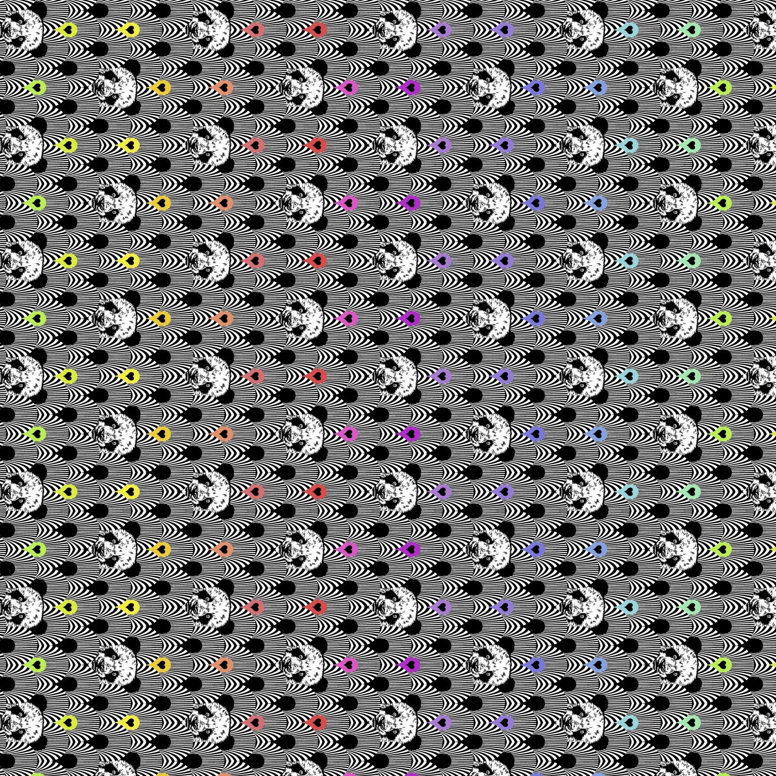 Free Spirit - Tula Pink - Linework - Pandamonium in Ink - *PRE-ORDER