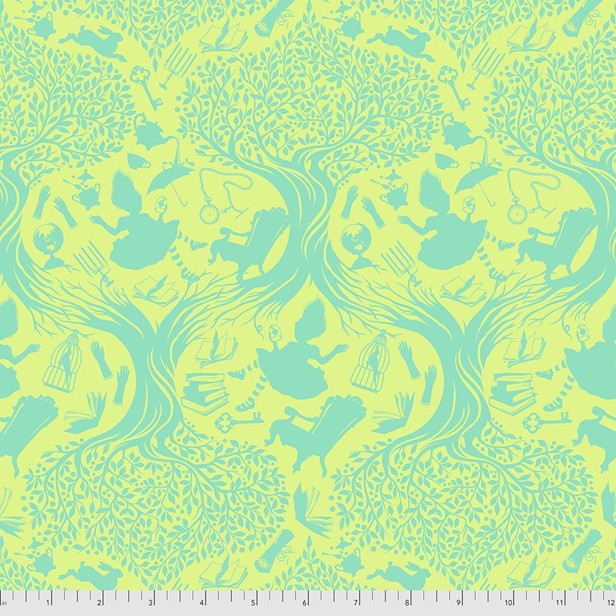Free Spirit Fabrics - Tula Pink - Curiouser - Down the Rabbit Hole  *PRE-ORDER