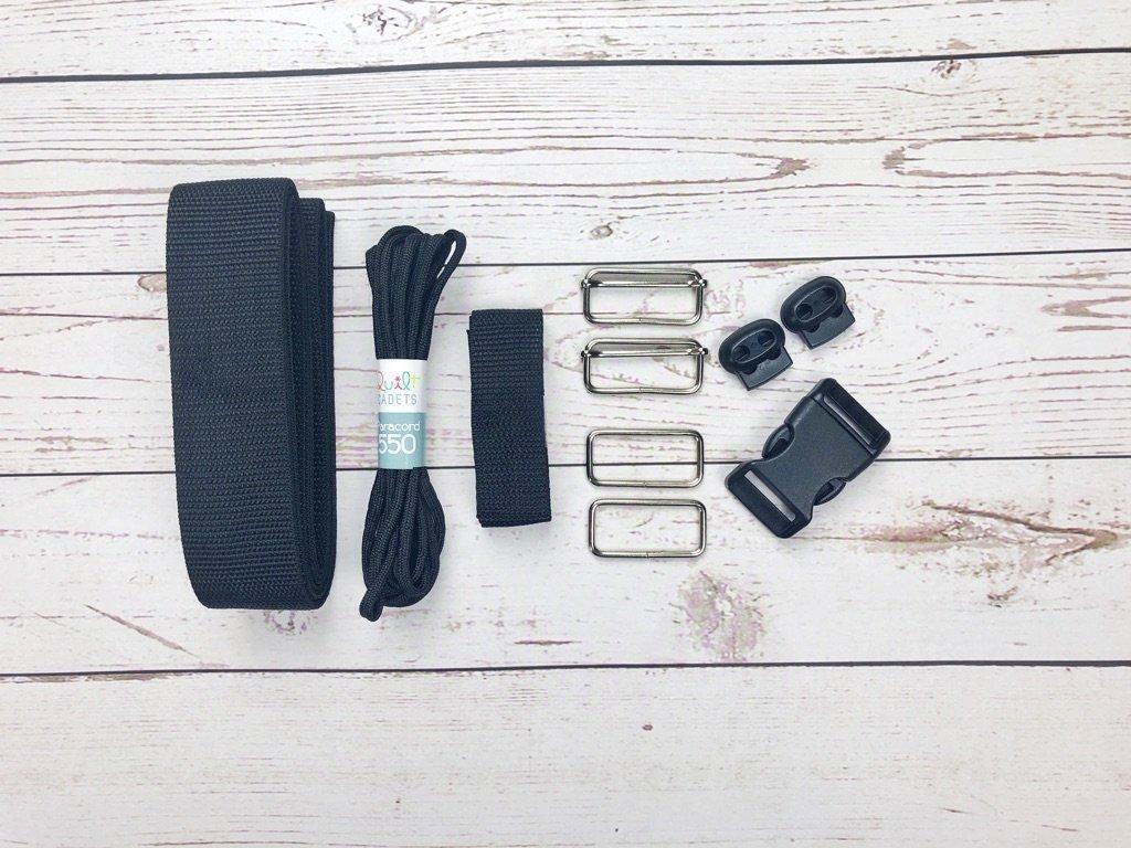 Quilt Cadets Braveheart Backpack Hardware Kit