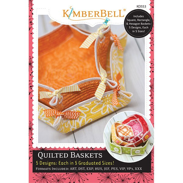 Kimberbell Designs Quilted BAskets