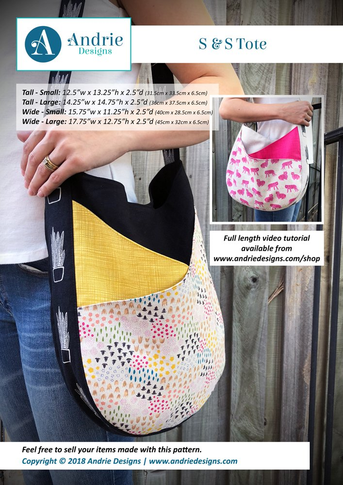 Andrie Designs S & S Tote