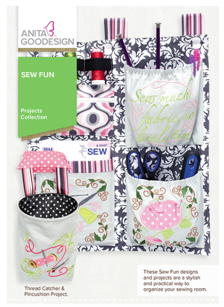 Anita Goodesign- Projects collection- Sew Fun