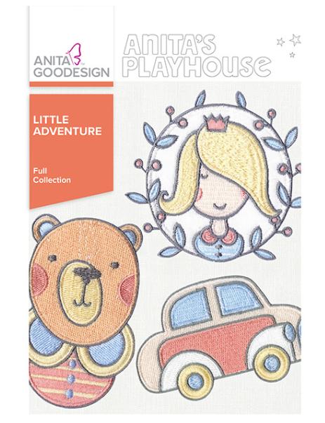 Anita Goodesign- Full Collection- Little Adventure
