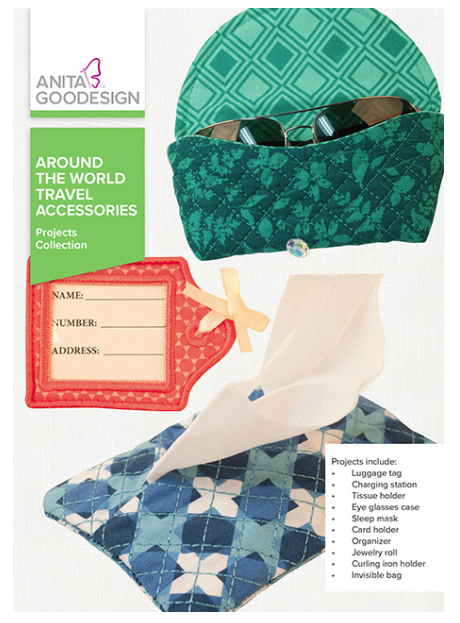 Anita Goodesign- Projects Collection- Around the World Travel Accessories