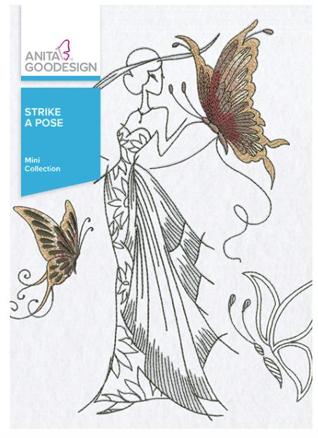 Anita Goodesign- Mini Collection- Strike A Pose