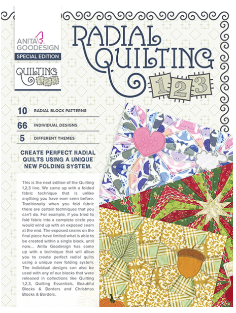 Anita Goodesign- Special Edition- Radial Quilting
