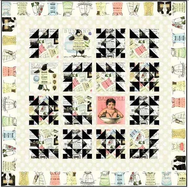 Janet Wecker-Frisch- Quilting B's- Quilt Kit
